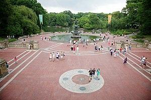 Bethesda Fountain, Central Park, New York, USA.