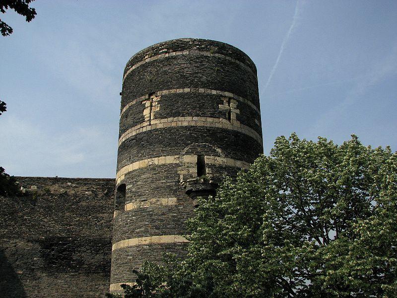 Château angers tour moulin