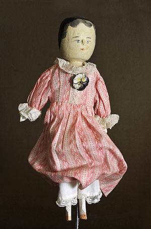 Stick doll or penny doll, in England called al...