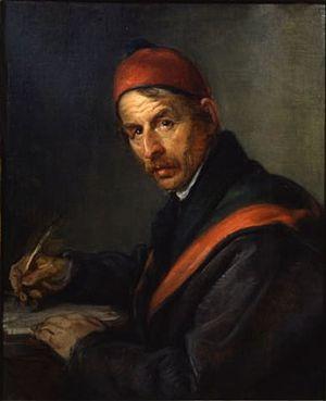 Giovanni Carnovali - Ritratto d'uomo in atto d...