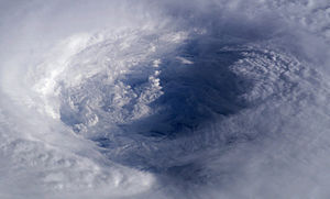 NASA astronaut Ed Lu took this image of the ey...