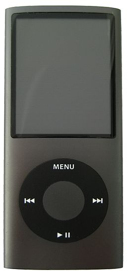 IPod Nano 4G black crop