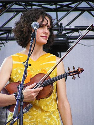 English: Violinist Jenny Scheinman at the Aust...