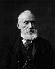 English: Photograph of William Thomson, Lord K...