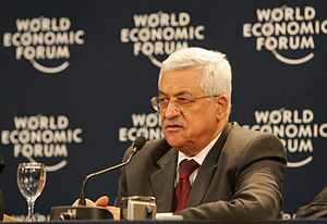 English: Mahmoud Abbas