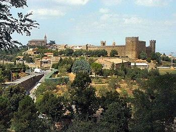Montalcino, Toscana, Italia