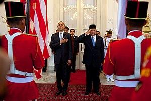United States President Barack Obama and Indon...