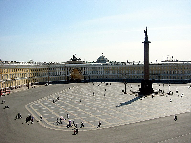 Plaza del Palacio (San Petersburgo)