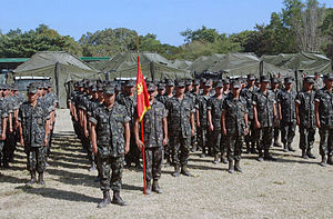 RP Marines in formation DM-SD-05-09106