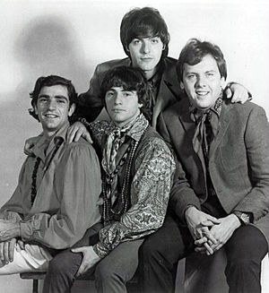 Publicity photo of the music group The Rascals.