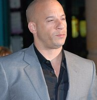 Vin Diesel at the Fast & Furious premiere at L...