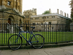 A Bicycle in Oxford