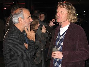 Alan Yentob and Grayson Perry at Private View ...