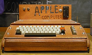 Apple I On display at the Smithsonian