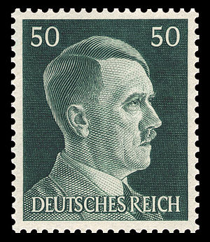 definitive stamp series of Adolf Hitler (1889-...