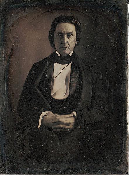 U.S. Sen. David Rice Atchison, from Missouri; photo by Matthew Brady