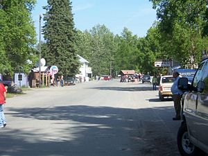 Downtown Talkeetna, Alaska