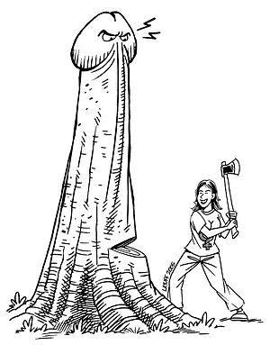 Evil Dick (by Latuff).