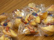 Fortune cookies - packaged