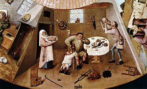 Hieronymus Bosch - The Seven Deadly Sins (deta...