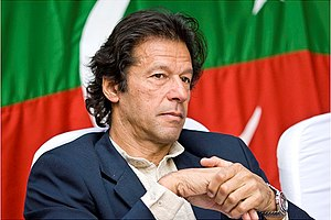 English: Imran Khan, December 2007