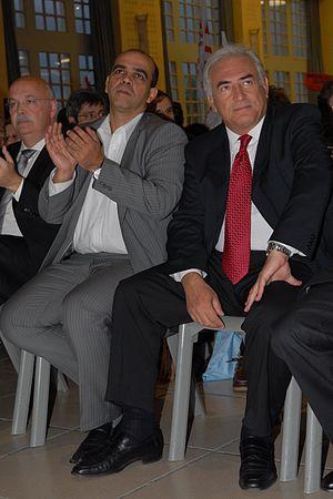 English: Kader Arif and Dominique Strauss-Kahn...