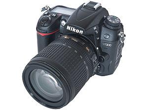 Nikon D7000 Digital SLR Camera with AF-S DX 18...