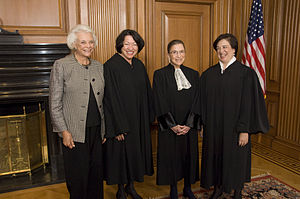 The four women who have served on the Supreme ...