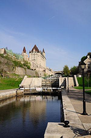 Deutsch: Ottawa: Schleusen am Rideau-Kanal