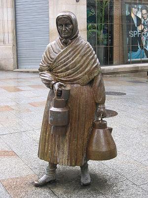 """Galego: """"A leiteira"""", Ramón Conde 19..."""