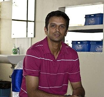 English: Indian cricketer Rahul Dravid