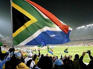 Rainbow nation flag