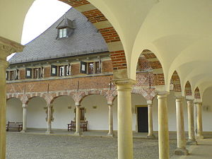 Schloss Reinbek, Arkaden
