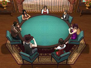 English: Teen Patti Game Play 1