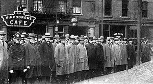 English: Plainclothes Officers -- circa 1919