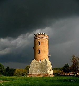 Chindia Tower in Târgovişte, Romania, built by...