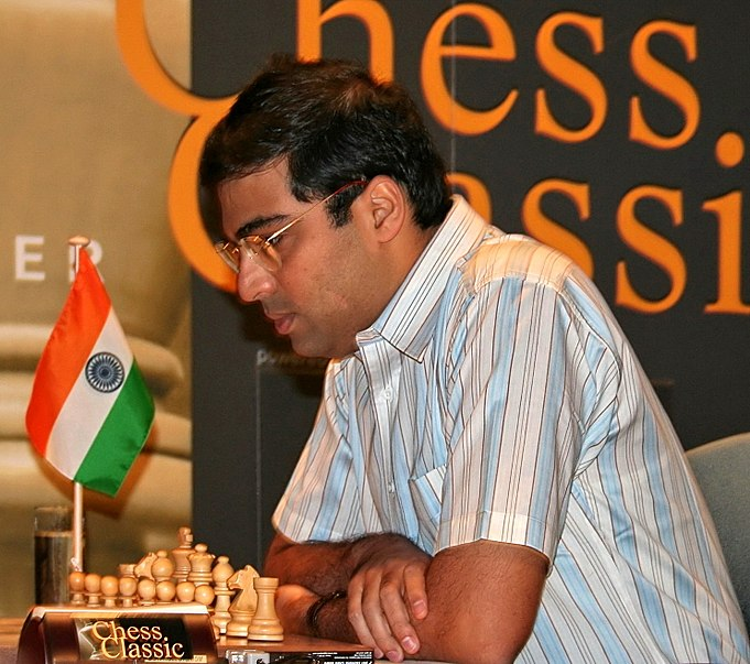 Chess Master Anand image from Youtube