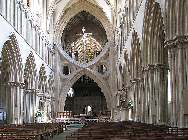 katedra w Wells, wnętrze