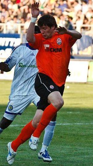 Yevhen Seleznyov in FC Shakhtar Donetsk