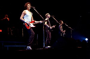 Dire Straits performing in Drammenshallen, Nor...