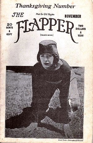 "Cover of magazine ""The Flapper"" for ..."