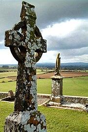 Cruz Celta en el Rock of Cashel, co. Tipperary