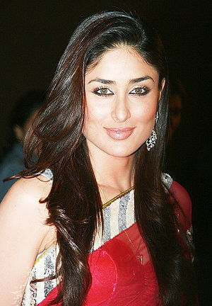 English: Indian actress Kareena Kapoor at the ...