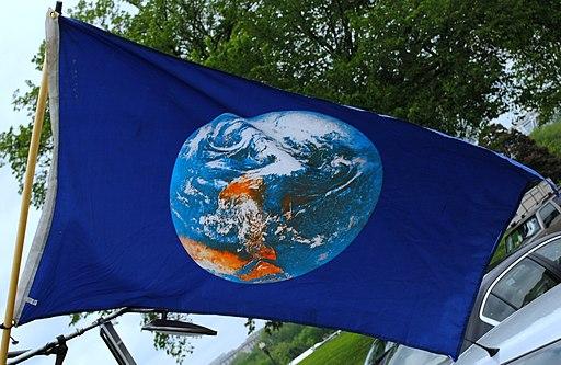 Photo of Earth flag