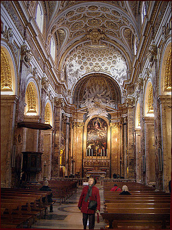 English: Interior of Church San Luigi dei Fran...
