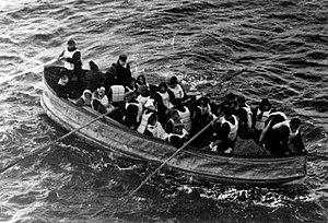 Deutsch: Rettungsboot der Titanic English: las...
