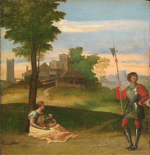 Titian - Rustic Idyll - WGA22728