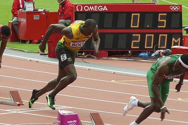 Usain Bolt 2012 Olympics start