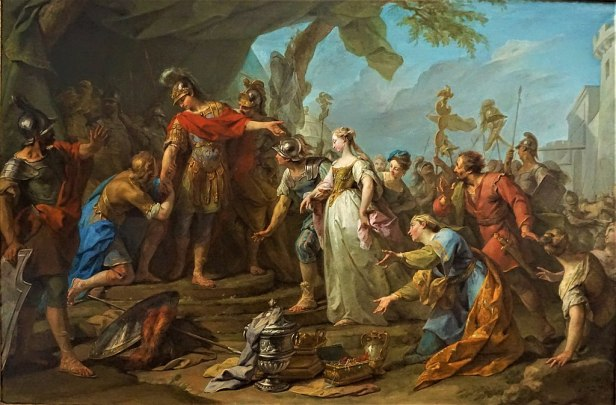 """The Generosity of Scipio"" by Jean II Restout"