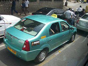 English: Bangalore Taxi